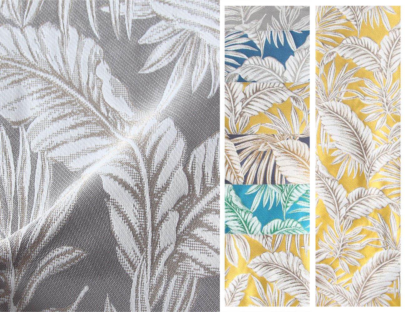 Натуральная ткань-компаньон с цветочными узорами