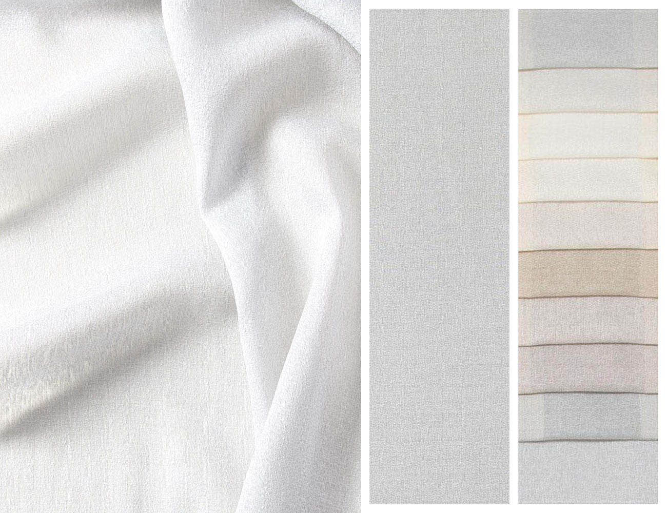 Однотонная ткань тюль