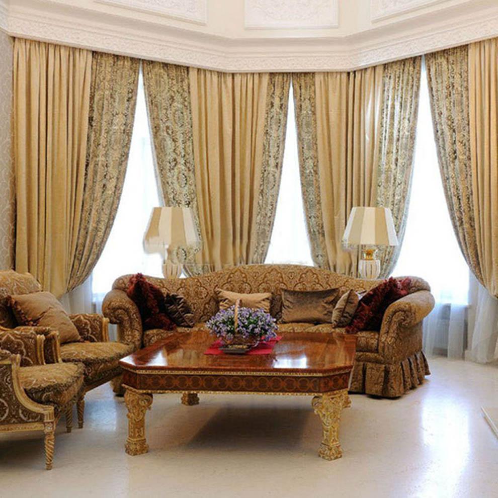 Элитные шторы из английской ткани