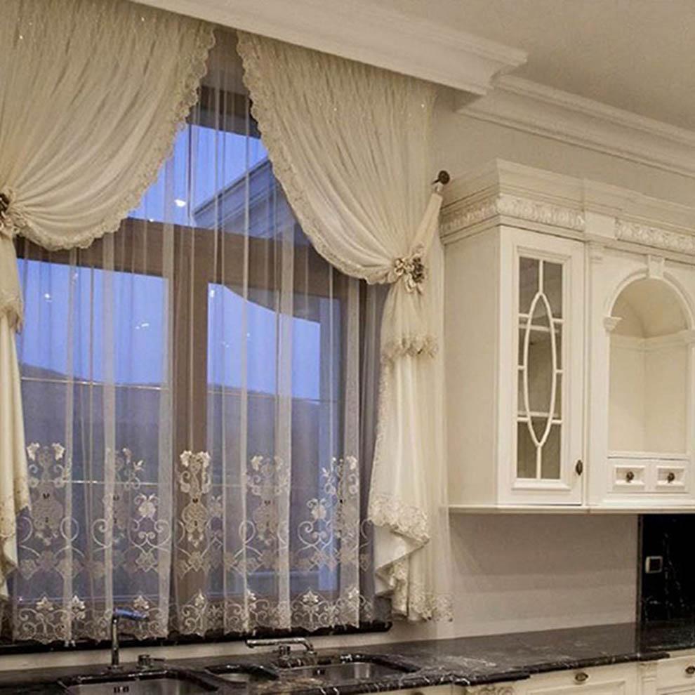 Комбинированные римские шторы