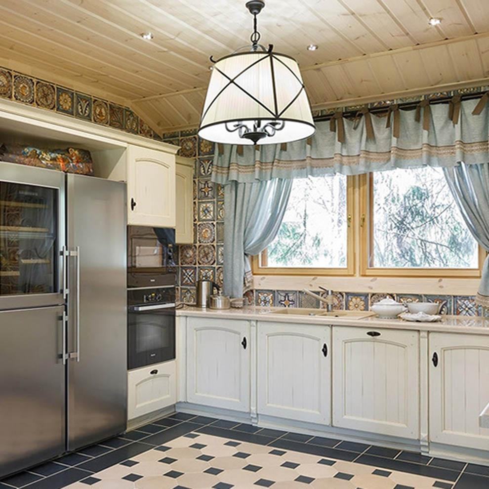 Шторы для уютной кухни