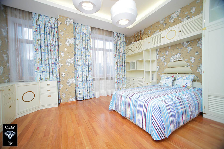 Романтичный дизайн детской комнаты