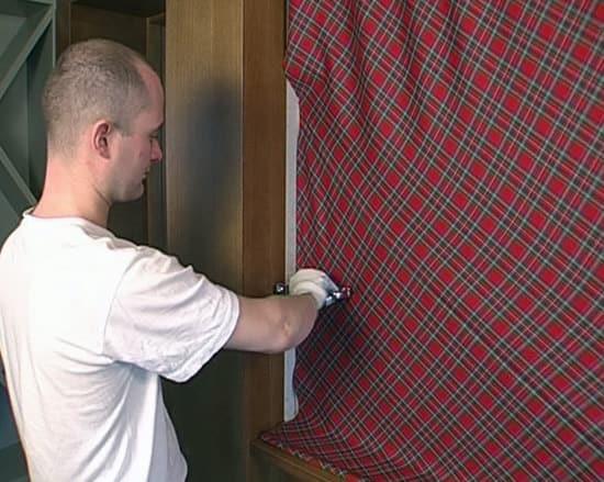 Семинар ткань на стенах